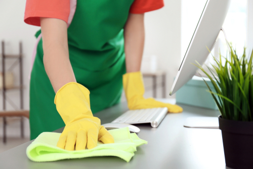 Why hire a cleaning company to disinfect my office