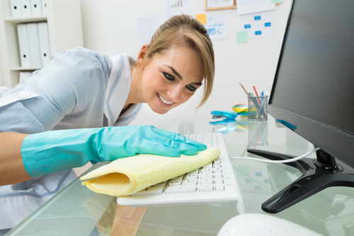How do you maintain hygiene in the workplace