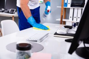 Who should deal with hygiene problems when they arise
